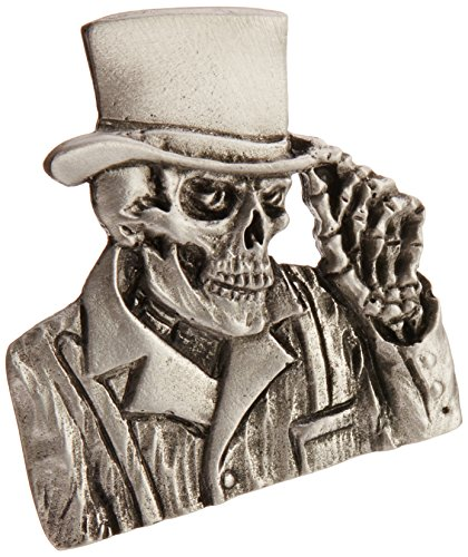 - Hot Leathers PNA1203 Silver Top Hat Pin