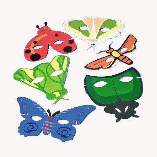 [Dozen Bug Animal Masks] (Girls Bug Costumes)