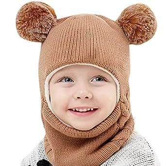 Amazon.com: Brilliant sun Baby Winter Hats for Girls Boys