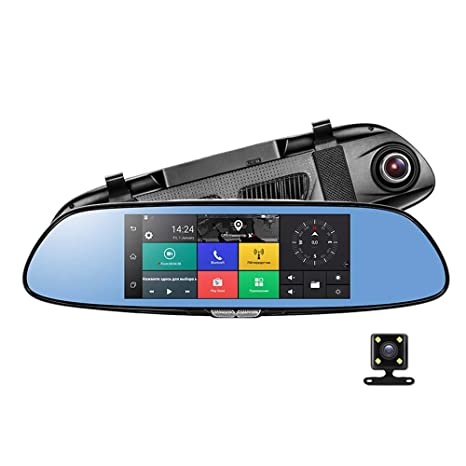 "HD 1080P Car DVR GPS Camera 7/"" Android 3G Dash Cam Wifi Bluetooth Video Recorder"