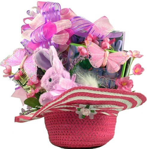 Daddy's Little Girl -Pink Easter Basket for Girls