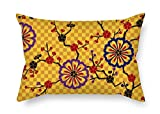 Flower Pillow Cases Gift Or Decor For Bedroom Dance Room Couch Car Home Dining Room - 2 Sides ArtsLifes