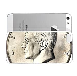 iPhone 5S Case 1964 Dollar U0026quotkennedy Half Dollaru0026quot United States Numista Hard Plastic Cover for iPhone 5 Case