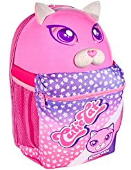 Raskullz Cutie Cat 3D Backpack (Pink, One Size Fits All)