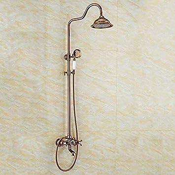 Duschkopf Regendusche Tippen Sie Auf Die Messing Armaturen Dusche