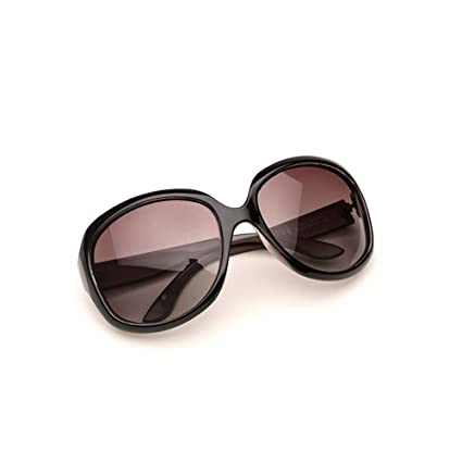DT Gafas de Sol polarizadas de la Sra. Gafas de Sol Redondas de la Cara
