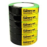 6 Rolls Multi Use Painters Green Masking Tape