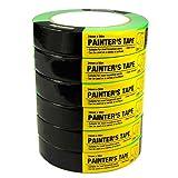 6 Rolls Multi Use Painters Masking Tape