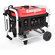 Energizer EZG3500, 3000 Running Power 3500 Peak Power, Portable, Heavy Duty, Gas Powered Generator, CARB Approved