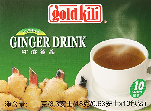 Gold Kili Instant Ginger Beverage, 6.3 Ounce