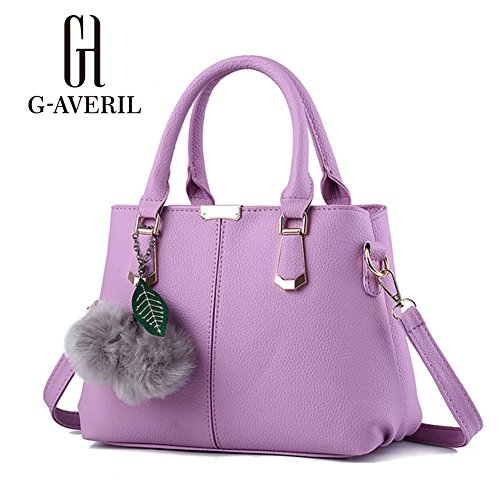 G-AVERIL, Borsa a mano donna Purple1