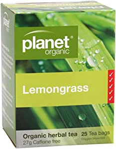 Planet Organic Lemon Grass Herbal Tea 25 Teabags
