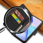 TheGiftKart Genuine Leather Finish Flip Back Cover for OnePlus 9 5G | Inside Pockets & Inbuilt Stand | Wallet Style Back…