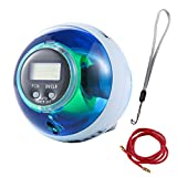 Novelty Exercise Ball Protable Home Fitness Equipment with Digital Speed Exercise Wrist, Arm Tennis Golf Tools Improvement Strengthener Small Space Sport Home Room Gym Gift Idea BBS412