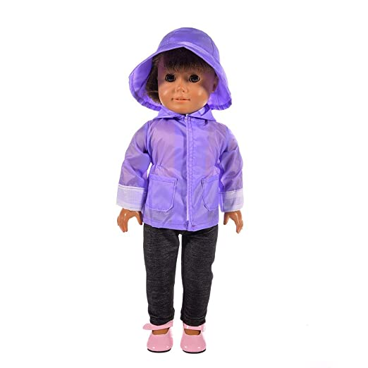 c65bd0bef81 Kimanli Doll Dress 18 Inch Sweater Jeans Set Clothes for American Girls Doll  Xmas Gift (