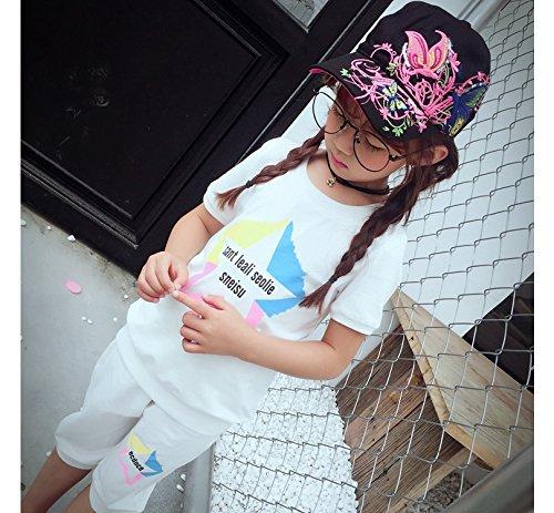 Qchomee Sombrero de béisbol con diseño de mariposa y mariposa para mujer, ideal para viajes, deportes, playa, protección solar, fiesta, etc. negro