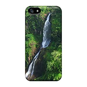 lintao diy Cynthaskey Case Cover Protector Specially Made For Iphone 5/5s Thoseghar Waterfall