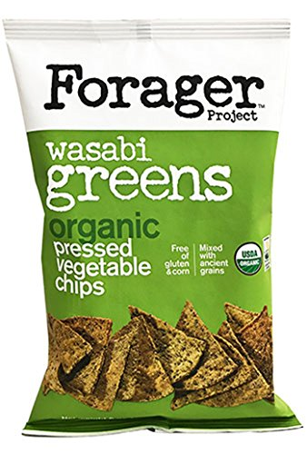 FORAGER PROJECT Organic Wasabi Greens Vegetable Chips, 5 OZ