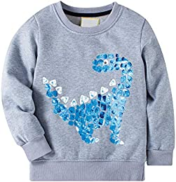 Little Boys Winter Cartoon Pattern Sweater Kids Pullovers