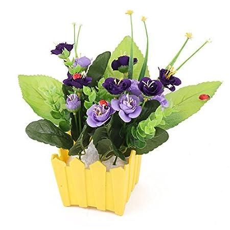 Amazon.com: eDealMax Flores artificiales de Emulational boda ...