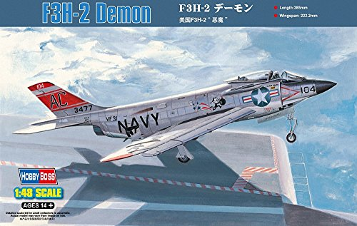 Hobby Boss F3H-2 Demon Airplane Model Building Kit