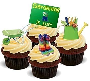 Kuchendekoration Neuheit Kinder Gartner Gartenzubehar Mix Aufrecht