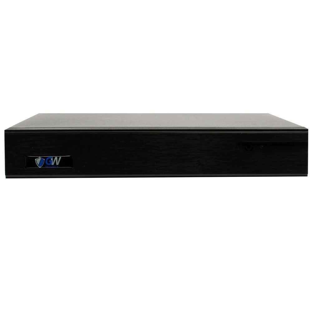 GW 9-Channel 4K NVR (9CH 1080p/4MP/5MP/6MP/8MP) H 265 Network Video  Recorder - Supports Recording 8CH Up to 8-Megapixel 4K POE IP Cameras,  Onvif