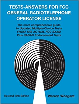 Tests - Answers for FCC General Radiotelephone Operator License