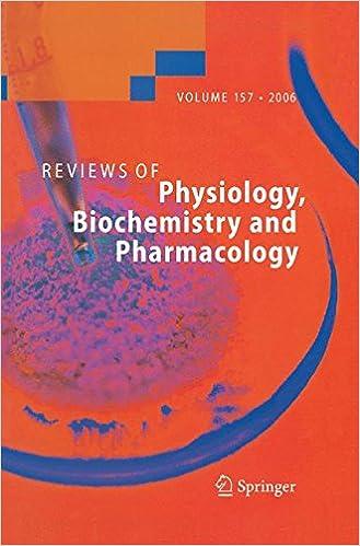 Reviews Of Physiology, Biochemistry And Pharmacology 157 por S. G. Amara epub