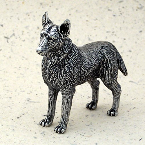 DANFORTH - German Shepherd - Pewter Figurine - 2 1/4 Inches - Handcrafted - Made in USA