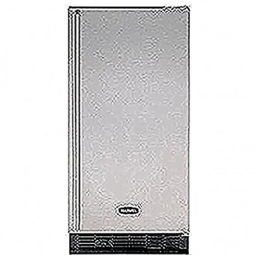 ADA Height Clear Ice Maker Cabinet Finish: White, Hinge: