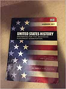 United States History Preparing for the Advanced Placement ...