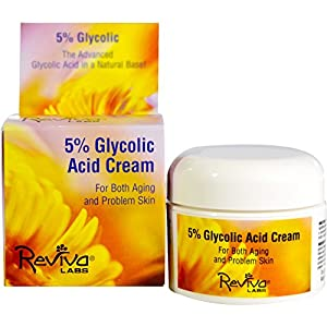 Reviva Labs, 5% Glycolic Acid Cream, 1.5 oz