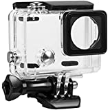 Kupton Housing Case for GoPro Hero 4 & Hero 3+ Waterproof Case 45M Diving Protective Housing Shell Case with Quick Release Mount Accessories for Go Pro Hero 4 Silver & Black