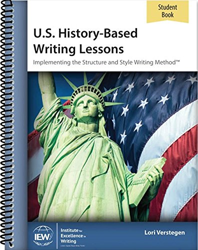 - IEW US History Based Writing Lessons Student Book