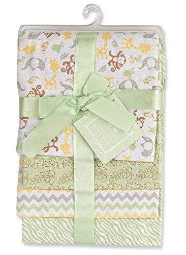 regent-baby-4-piece-crib-mates-receiving-blankets-green
