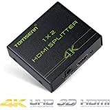 Hdmi Splitter 1x2 (1 In 2 Out) Amplified Powered Splitter Signal Distributor Support