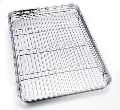 TeamFar Baking Sheet with Cooling Rack, 24