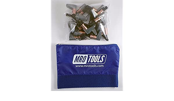 w// Carry Bag SET OF 25 KSG2S25 1//2 x 1 Cleco Side-Grip Clamps