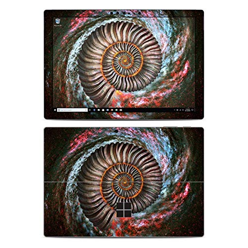 Ammonite Galaxy Protector Skin Sticker Compatible with Microsoft Surface Pro 6 - Ultra Thin Protective Vinyl Decal wrap Cover