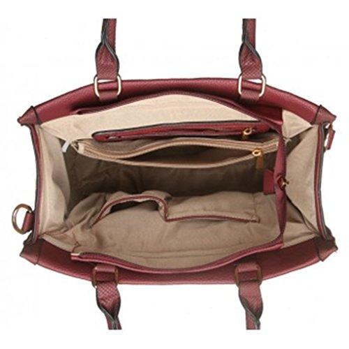 Large Tote Size Handbag Bags Padlock Handbags Leahward Sale Clearance Shoulder Grey For 195 Women dxwqRgg