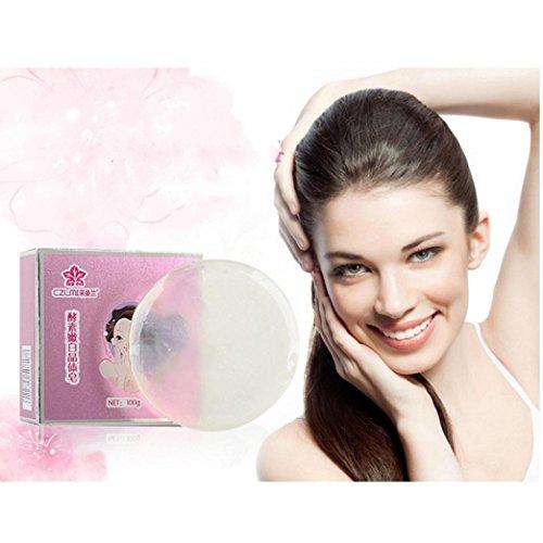 Hometom Whitening Soap, Improve Skin Color Desalination Skin