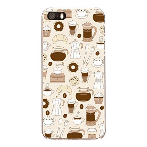 "Disagu SF-sdi-4558_1148#zub_cc6486 Design Schutzhülle für Apple iPhone SE - Motiv ""Kaffee 01"""
