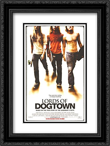 - Lords of Dogtown 20x24 Double Matted Black Ornate Framed Movie Poster Art Print