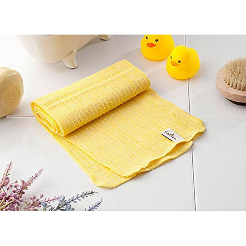 100% Natural, Organic / Beauty Skin, Shower and Bath Wash Cloth/ Body Scrub Towels / Made in Korea (Long) by HW GLOBAL (Image #3)
