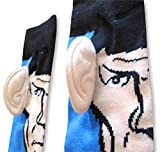 Star Trek Spock with Ears Crew Socks, Blue, Sock