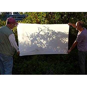 ALZO Diffusion Fabric Nylon Silk White Light Modifier, 1 Yard Long 60 Inches Wide, Un-Finished Edges, Scissor-Cut for Photography, Softbox and Light Tents