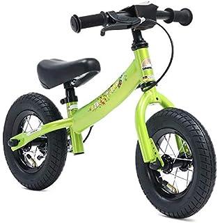 BIKESTAR Running Balance Bike con sidestand y Freno para niños de 3 años | 12 Pulgadas Sport Edition | Rojo: Amazon.es: Juguetes y juegos