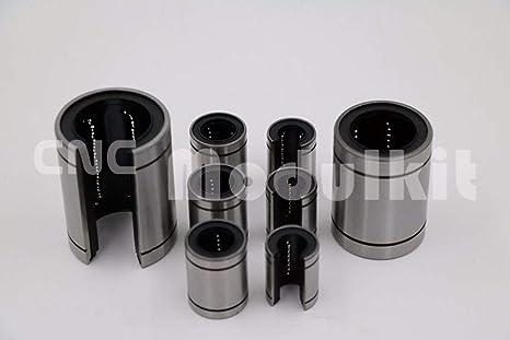 Piezas mecánicas CNC AiCheaX LM20UU LM25UU LM30UU LM35UU LM40UU ...