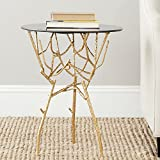 Safavieh Home Collection Tara Gold Accent Table